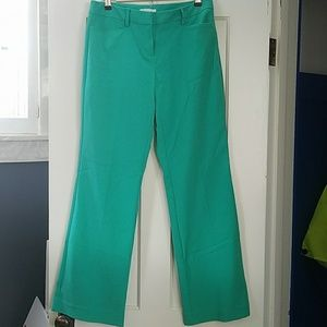 Green Stretch Trouser